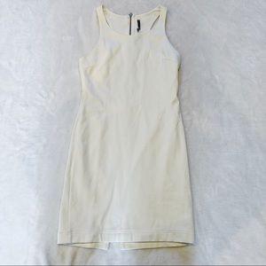Lulu's | White Bodycon Dress sz 2